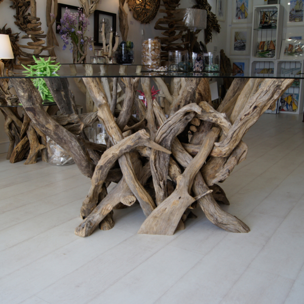 Driftwood Rectangular Dining Table to seat 6