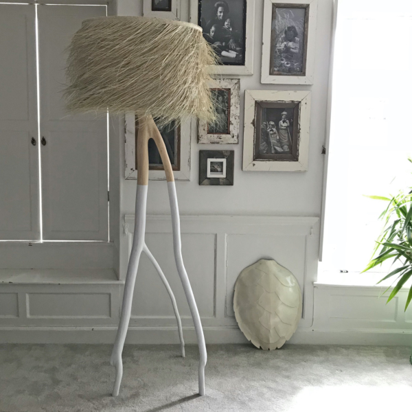 PALM Tall White DUO Floor Lamp H210cm