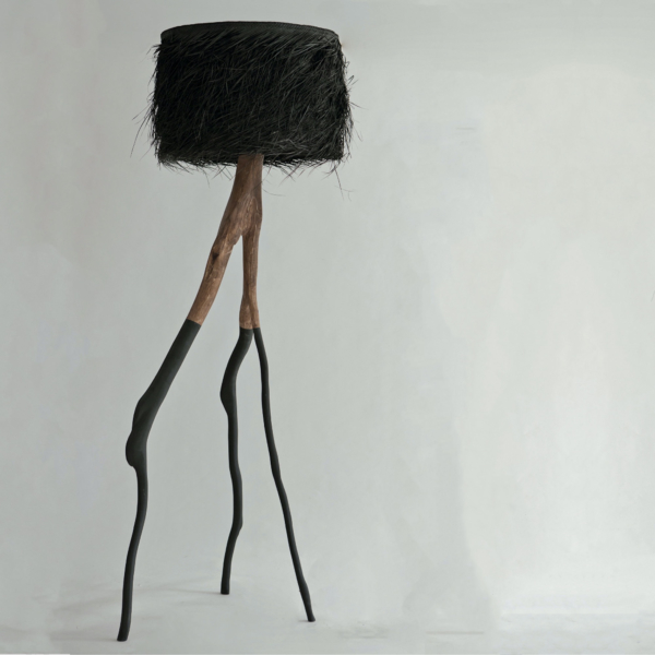 Tall PALM Black DUO Branched Floor Lamp