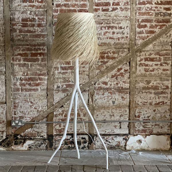PALM Branched White Floor Lamp