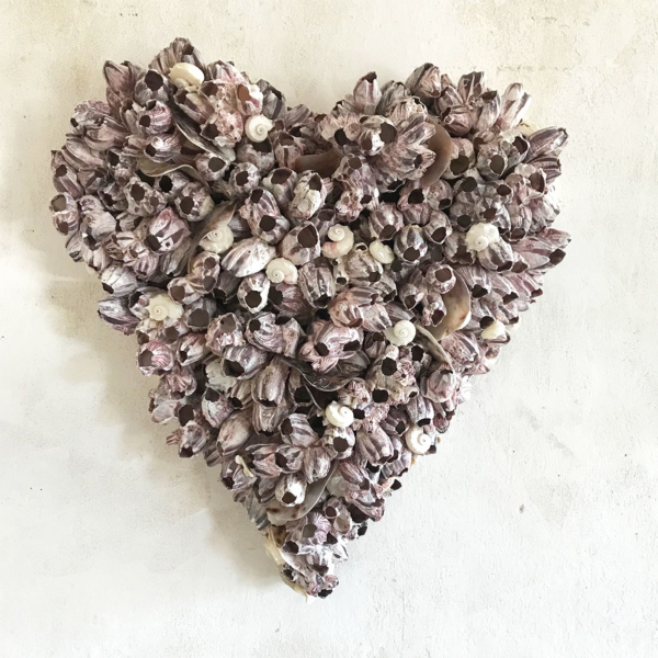 Small Pink Barnacle Heart