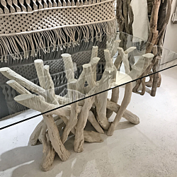 Bleached Driftwood Dining Table 180cm x 125cm