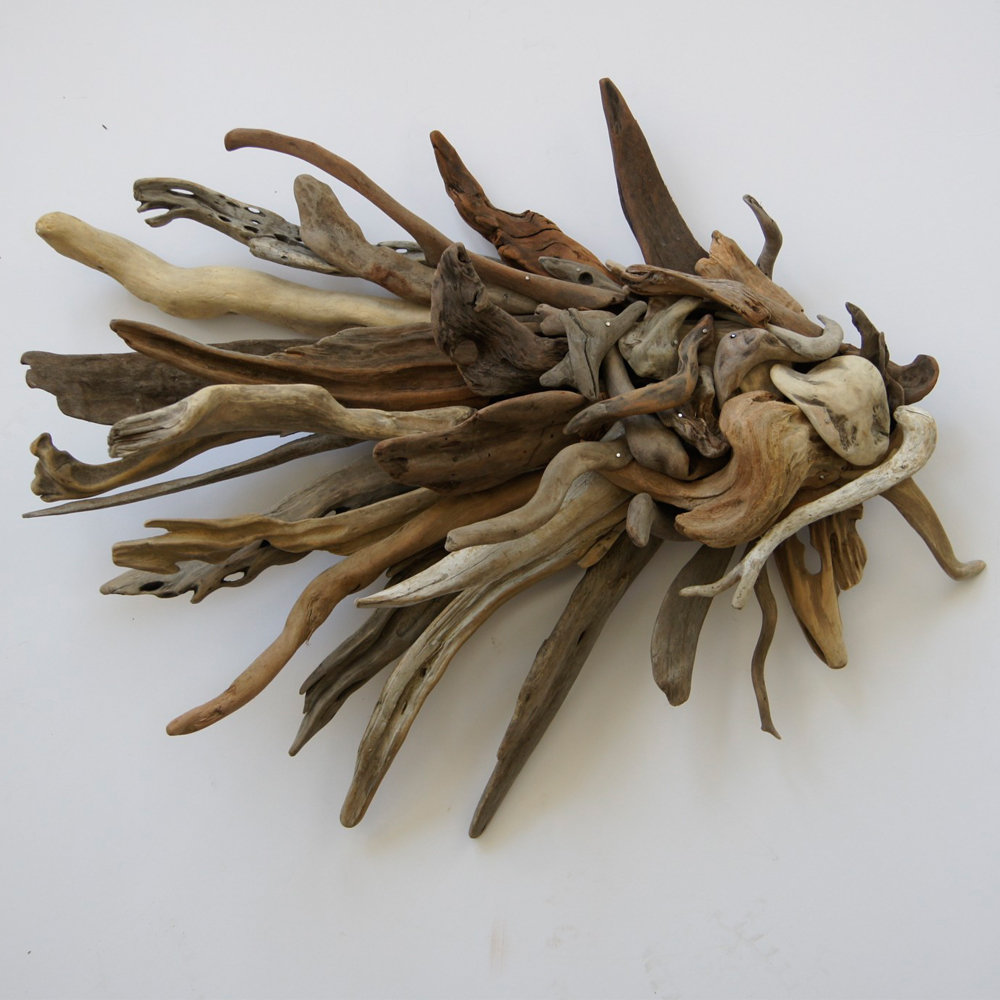 Handmade Driftwood Angel Fish