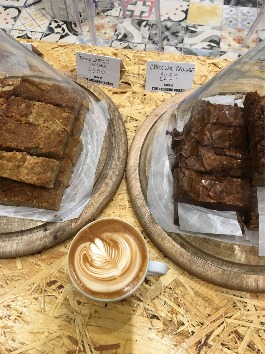 Port Espresso Brownies and Flapjacks