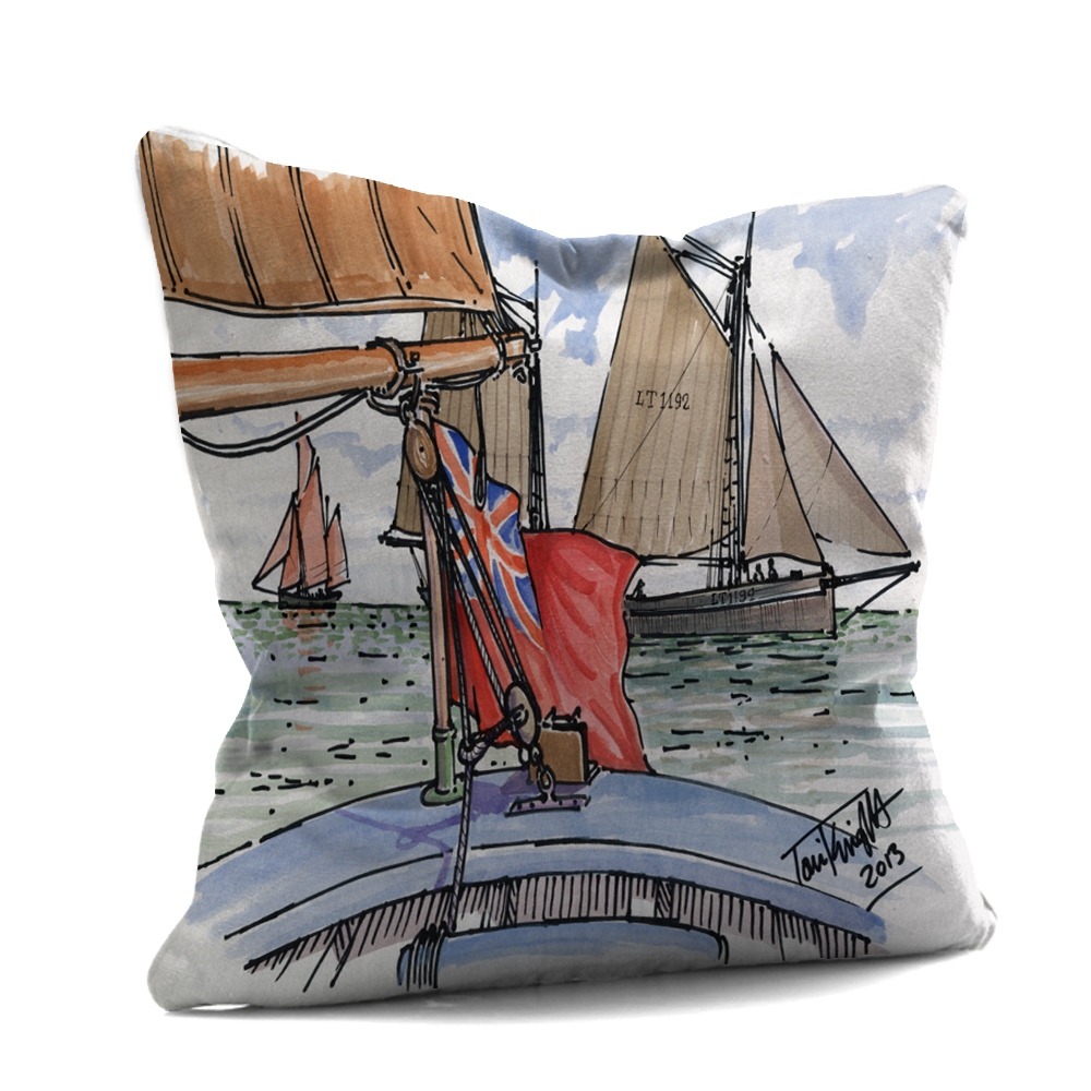 Red Ensign Cushion