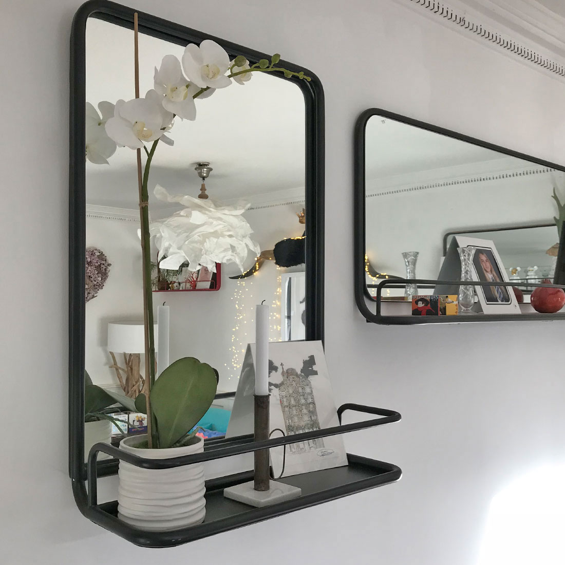 Portrait Carriage Mirror