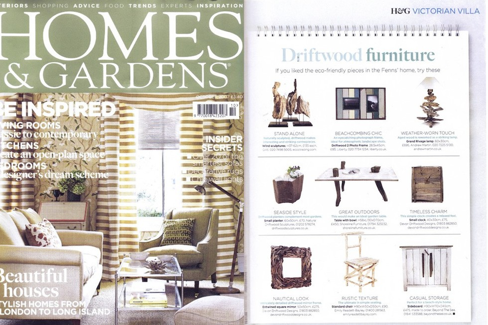 Homes And Gardens Oct 2007